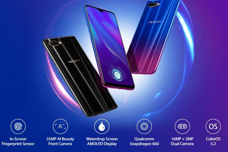 Oppo K1 launched in India its price,specification and more