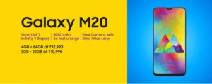 Special Facts about Samsung galaxy m10 and m20