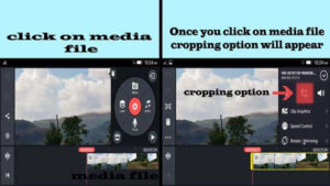 How to crop Video In Kinemaster