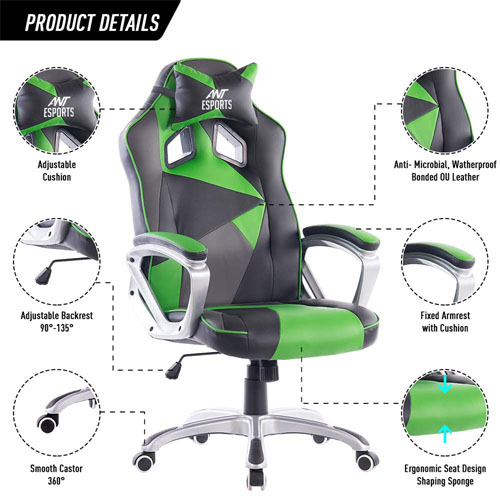 Ant Esports WB-8077- Best Gaming Chair In India