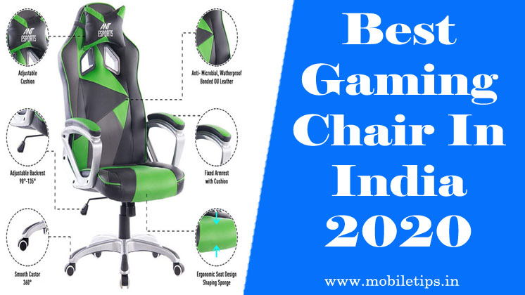 best gaming chair in india 2020